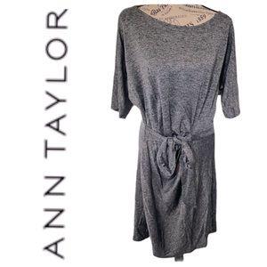 Ann Taylor ¾ Sleeve Dress Size XL Gray